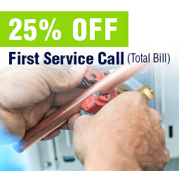 25% Off First Service Call